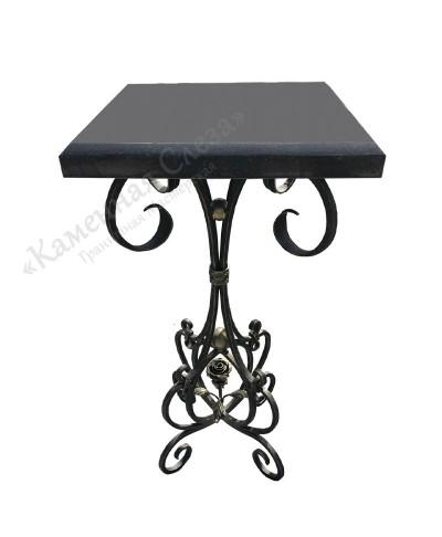 Столик на могилу модель Роза (под камень)