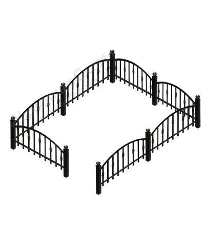 Кованная ограда модель Арка малая (без пик)
