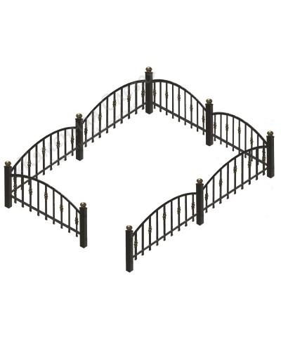 Кованная ограда Арка 2