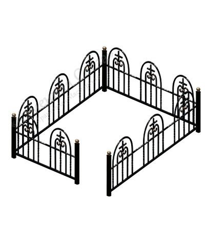 Кованная ограда Купол