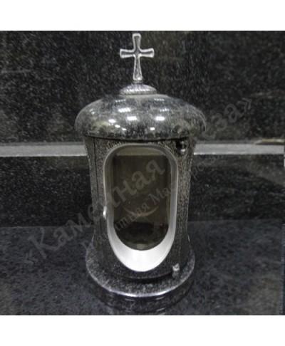 Лампада на могилу Габбро-Диабаз