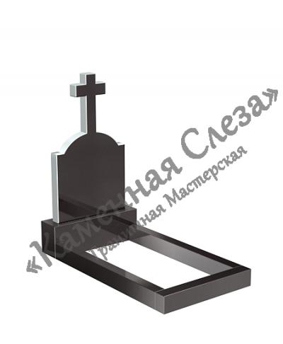 Памятник с крестом Модель КР-001