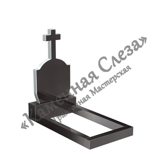 Памятник с крестом модель КР-004
