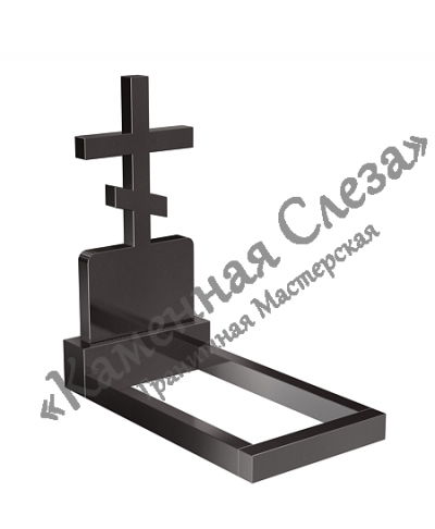 Памятник с крестом Модель КР-005