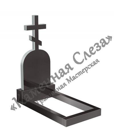 Памятник с крестом Модель КР-006