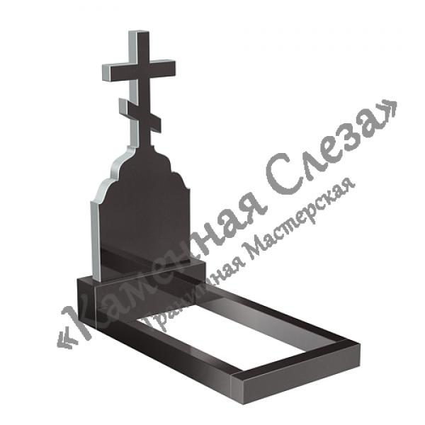 Памятник с крестом модель КР-007