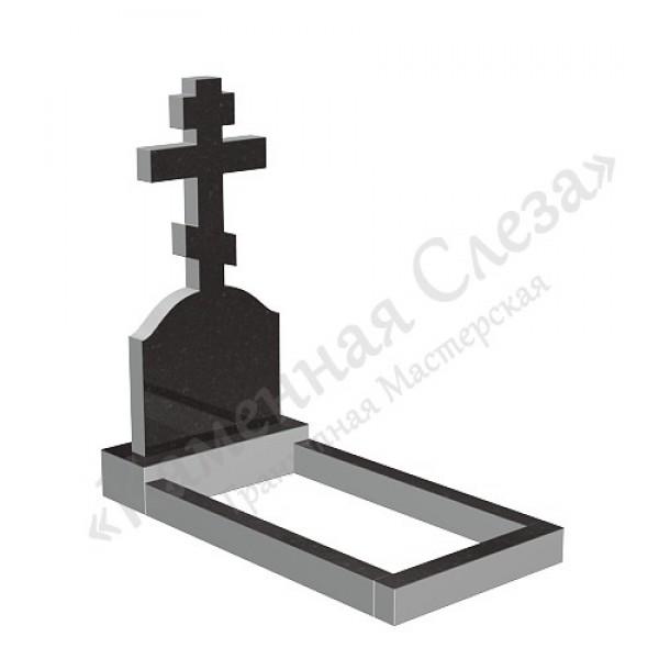 Памятник с крестом Модель КР-011