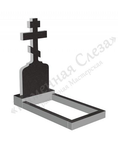 Памятник с крестом Модель КР-013