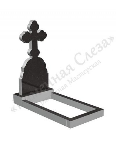 Памятник с крестом Модель КР-014