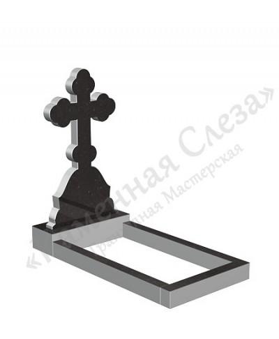 Памятник с крестом Модель КР-015